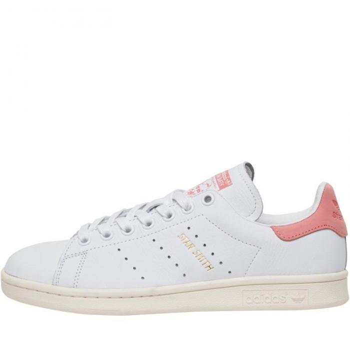 Nouveaux produits 65e12 810ab Rose Blanc Stan Et Smith Femme Adidas n80PkwOX