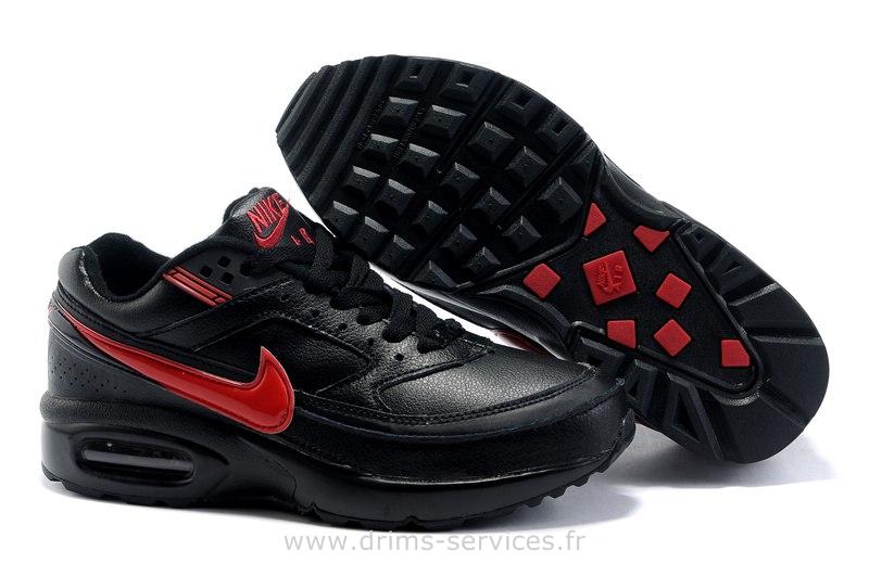 2018 Jeune[Nouveau] | Nike Air Max Bw 'Noir' 'Rouge' 'Blanc